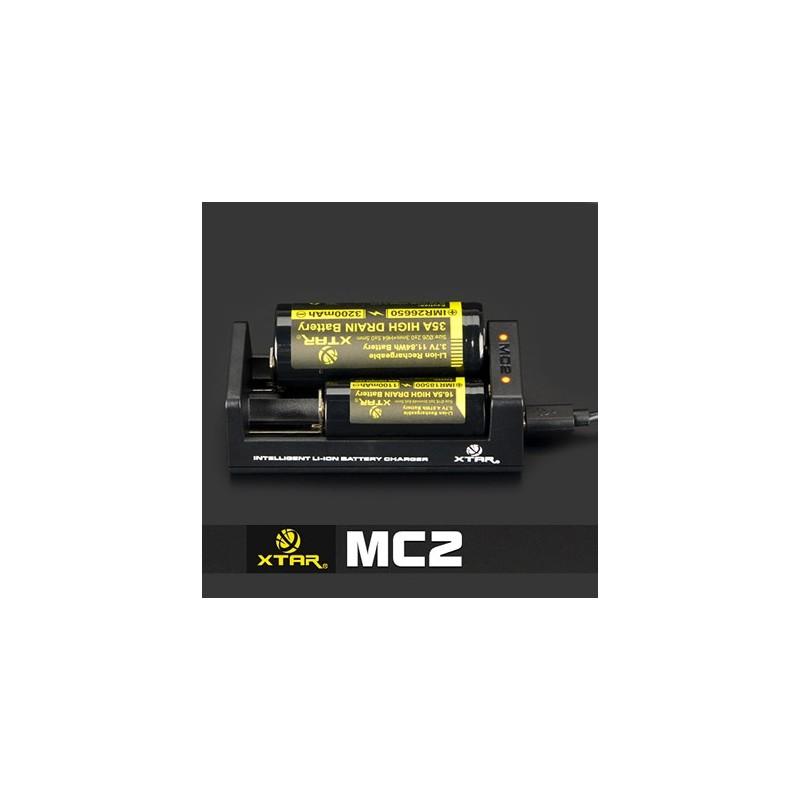 Chargeur Accu XTAR MC2 18,90€