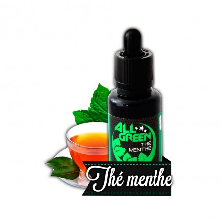 The menthe - Green Vapes 10 ml DLUO
