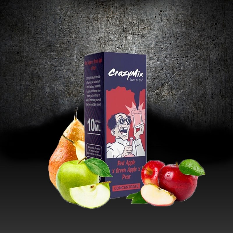 Crazy Mix, Red Apple, Green Apple, Pear 6,00€