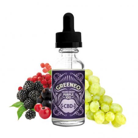 Greeneo - CBD Grand daddy purple 10ml 19,90€