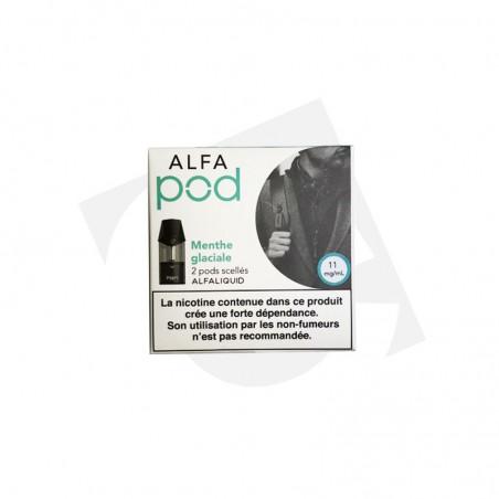 Menthe glaciale - Recharge Alfapod 6,90€