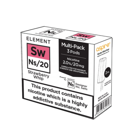 Pod NS Elements - Strawberry Whip 11,90€