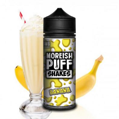MOREISH PUFF - Shakes banana - 100ML 26,90€