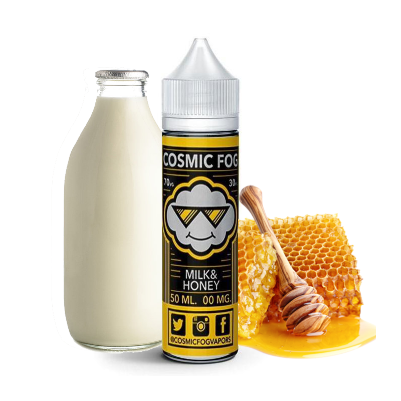 COSMIC FOG - Milk and honey - 50ML 19,90€