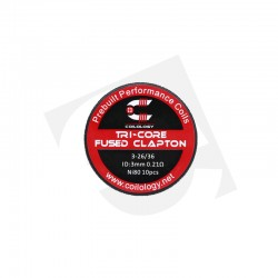 Coilology, Performance Coil Tri-Core Fused Clapton 11,88 €