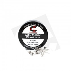 Coilology, Performance Coils MTL Fused Clapton 11,88 €