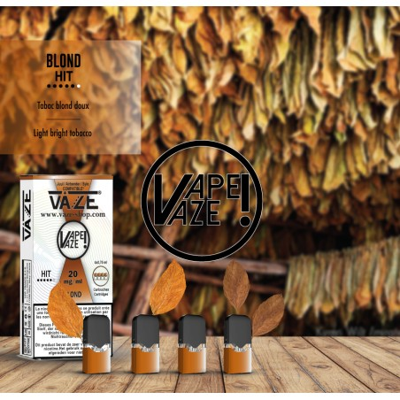 Cartouches Tabac Blond, Vaze 10,90€