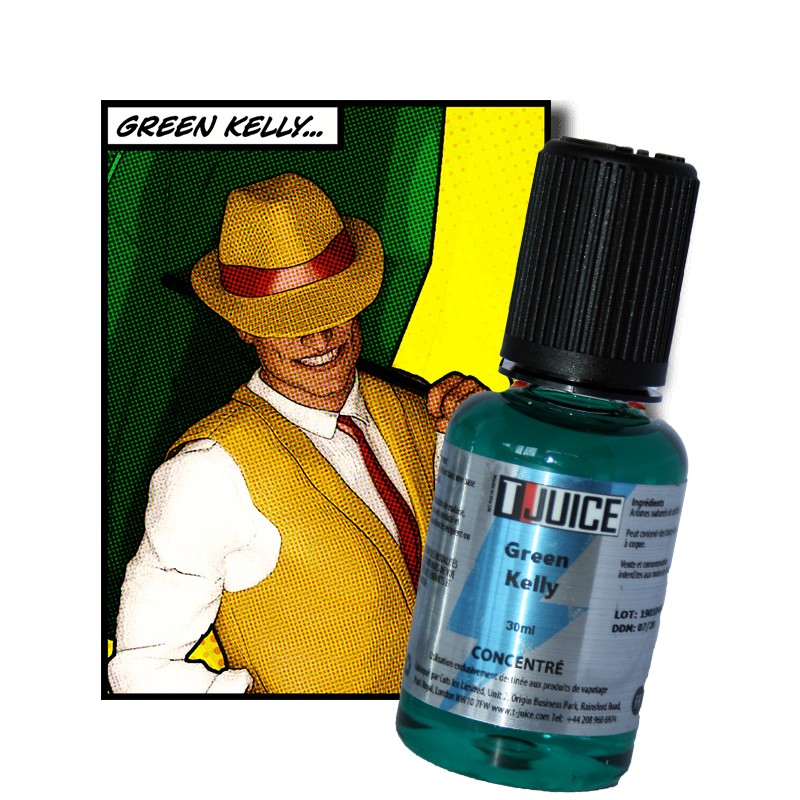 Concentré, T-Juice, Green Kelly 30ml 13,50€