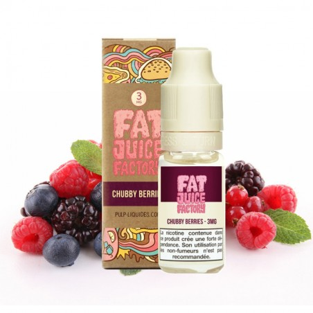 FAT JUICE FACTORY - Chubby Berries - 10ml 6,90€