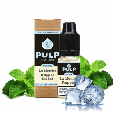 PULP - SELS DE NICOTINE - LA MENTHE FRAPPEE - 10ml 5,90€