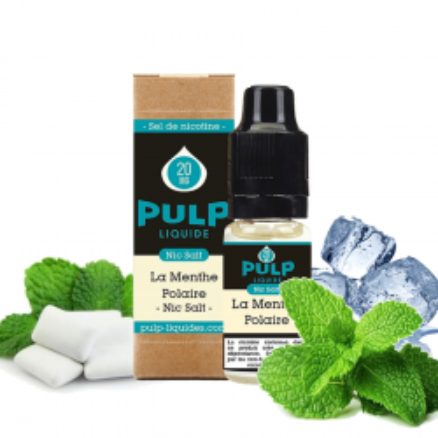 PULP - SELS DE NICOTINE - LA MENTHE POLAIRE - 10ml 5,90€
