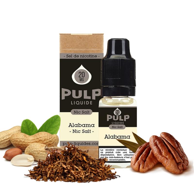 PULP - SELS DE NICOTINE - ALABAMA - 10ml 5,90€