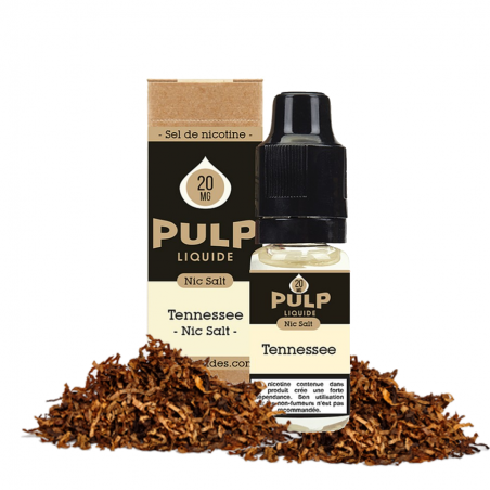 PULP - SELS DE NICOTINE - TENNESSE - 10ml 5,90€