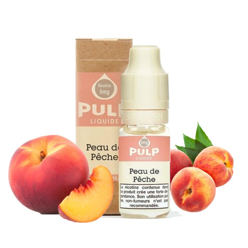E-liquide Peau de pêche - 10ml Pulp