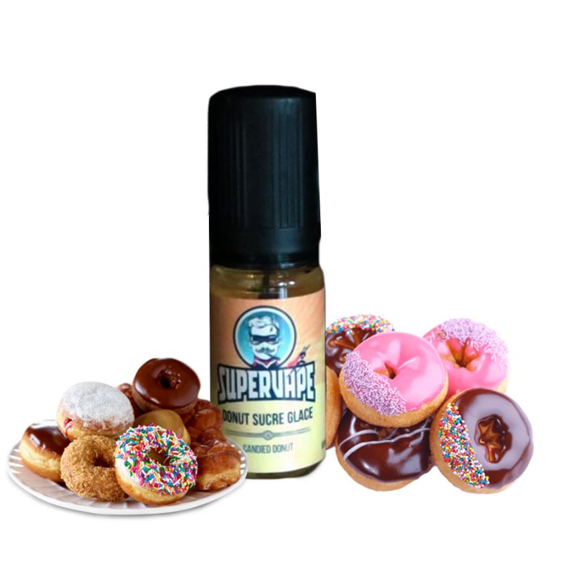 Supervape, Donut sucre glace 4,50€
