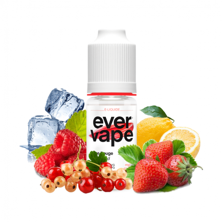 E-liquide Glace rouge - 10ml Ever Vape