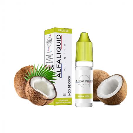 E-liquide Noix de coco - 10ml Alfaliquid