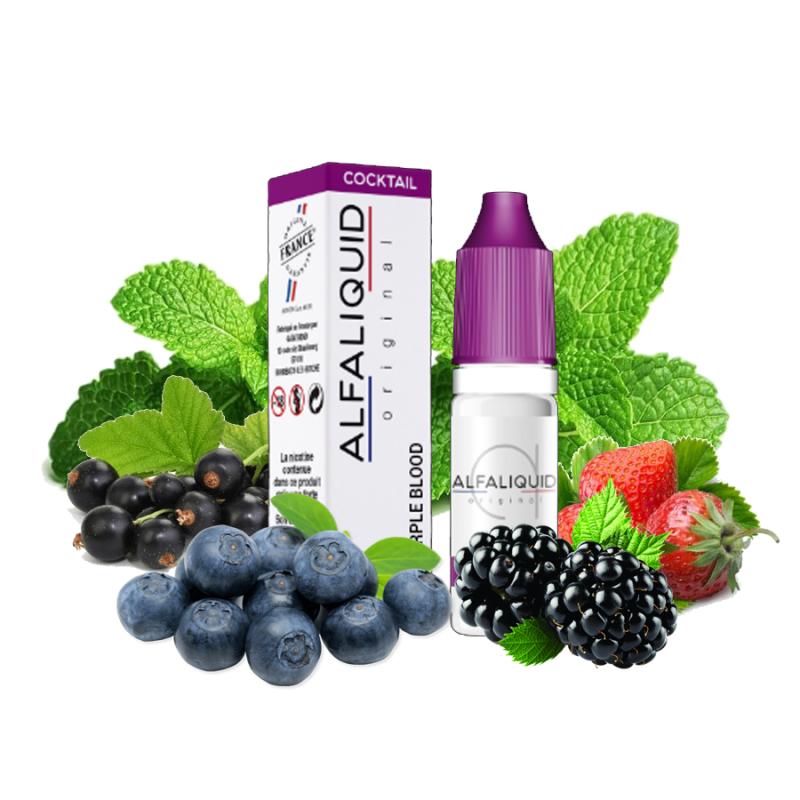 E-liquide Purple blood - 10ml Alfaliquid