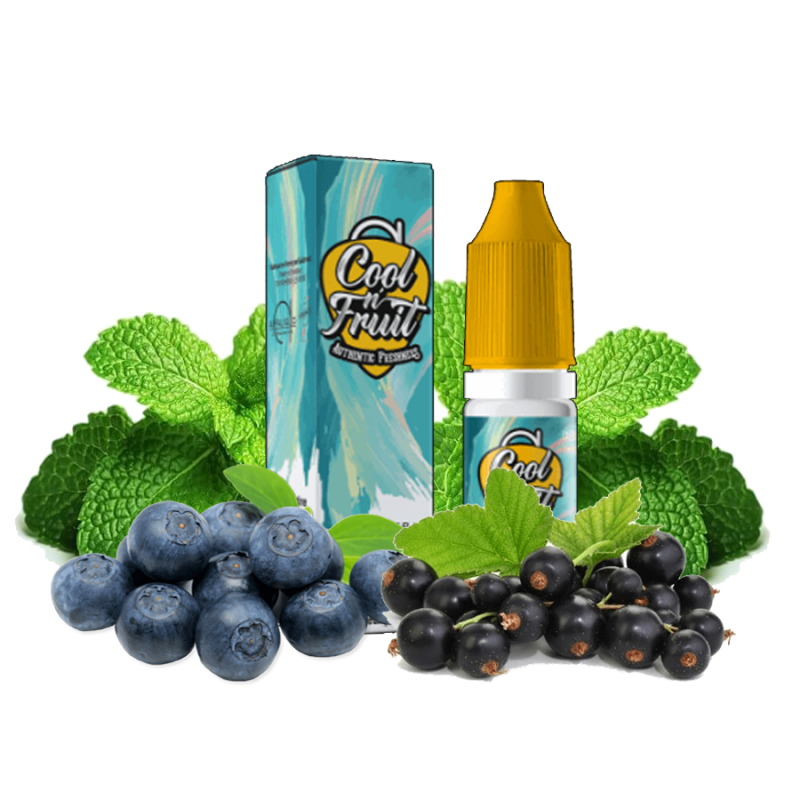 Alfa Liquid, Cool n'fruit, Blue Flash 5,90€