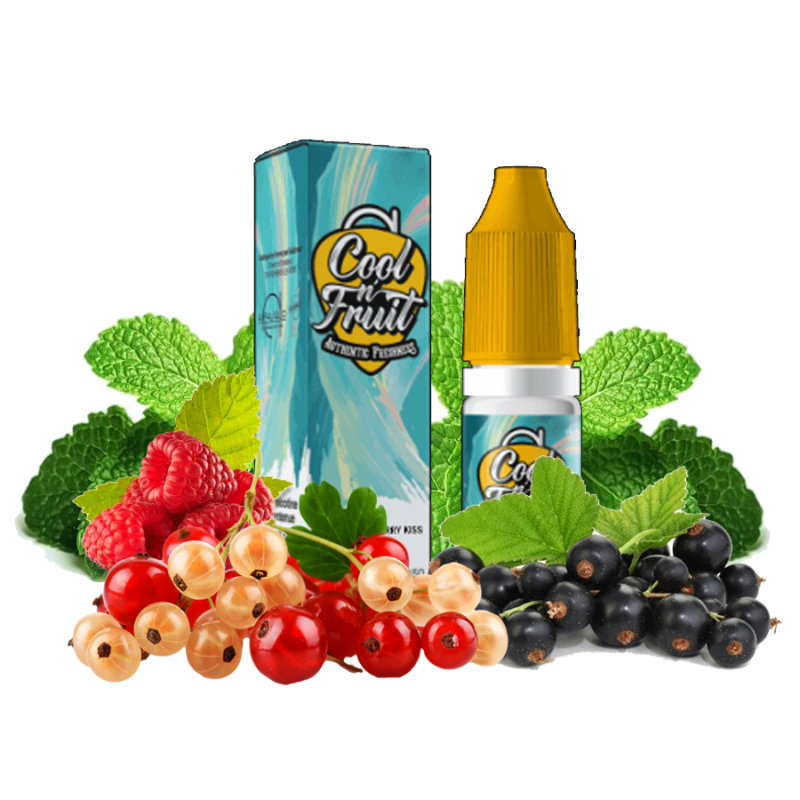 Berry Kiss - Cool N'fruit - 10ml 5,90€