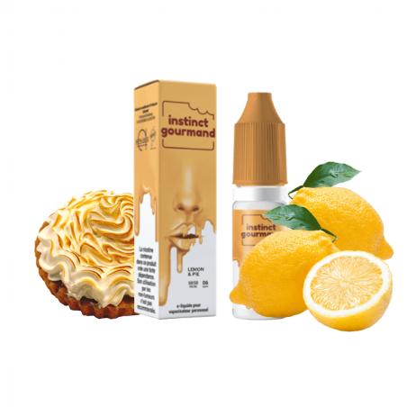 Lemon & Pie - Instinct Gourmand - Alfaliquid - 10 ml 5,90€
