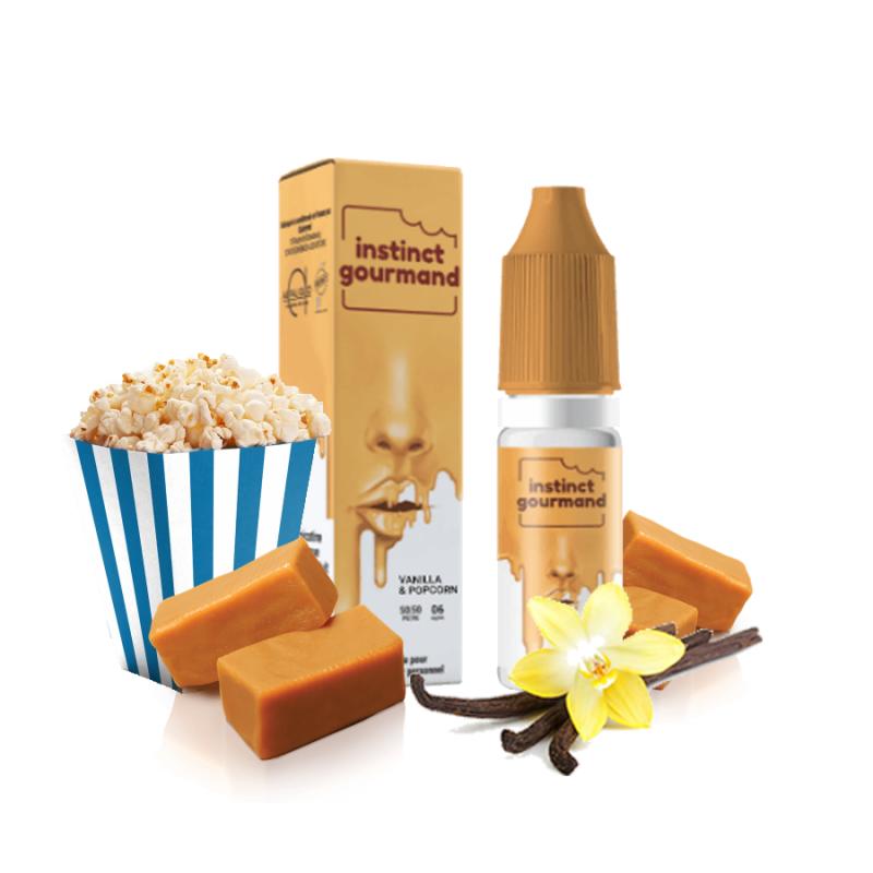 Vanilla & Popcorn - Instinct Gourmand - Alfaliquid - 10 ml 5,90€