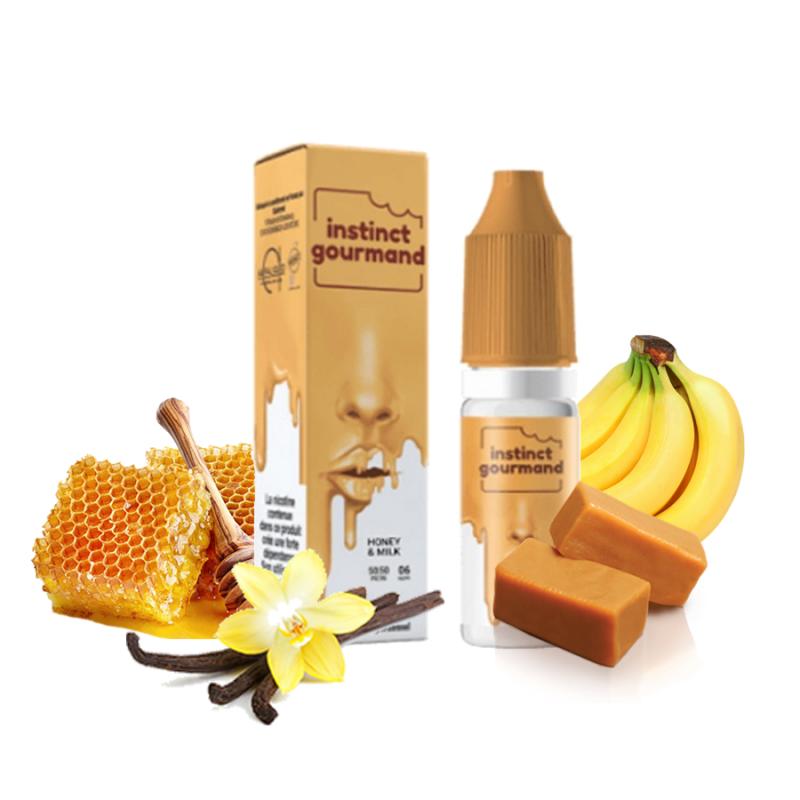 Alfaliquid - Instinct Gourmand - Honey Milk 5,90€