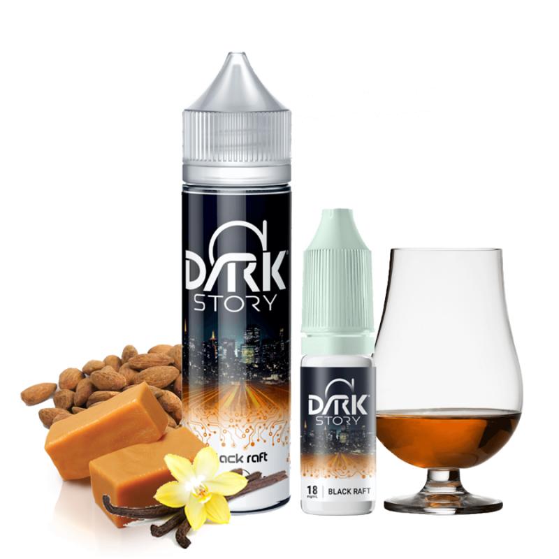 Alfaliquid - Dark Story - Black Raft 50 ml + 10 ml 24,90€