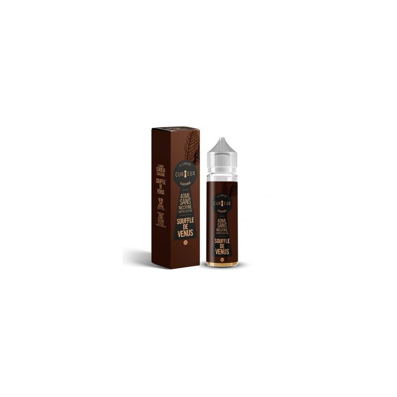 E-liquide Souffle de Venus - 40ml Curieux
