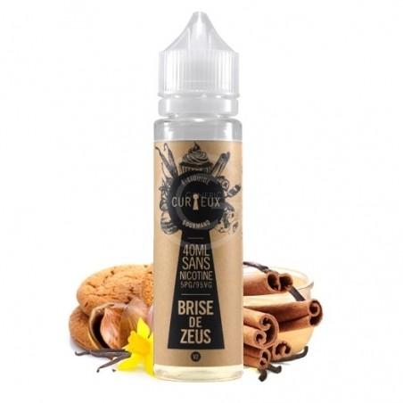 E- liquide Brise de Zeus Curieux Gourmand 40ml 24,90€
