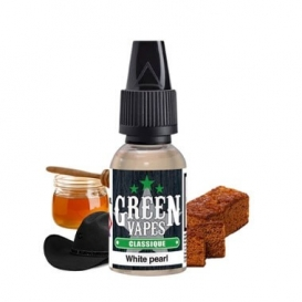 White pearl Green Vapes DLUO 10 ml