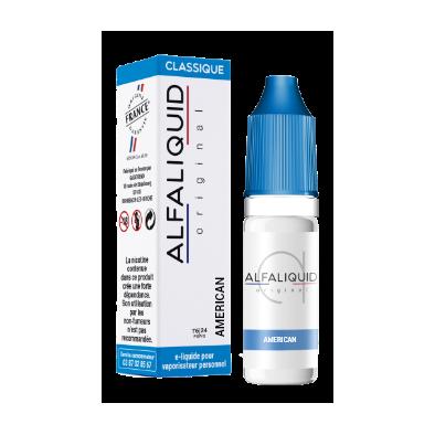 Amerikanischer Tabak - Alfaliquid 10ml