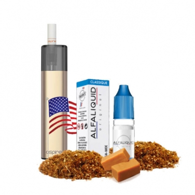 Coffret Vilter Aspire + USA-Mix Alfaliquid 10ml