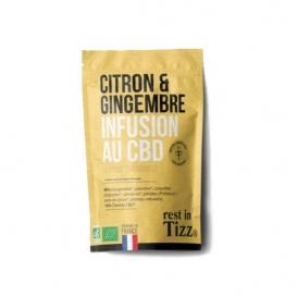 Infusion Citron Gingembre CBD Stilla
