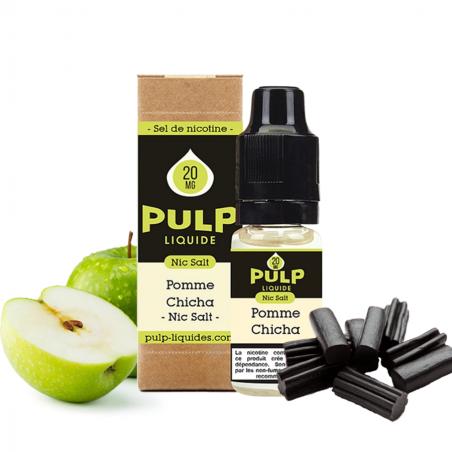 PULP - SELS DE NICOTINE - POMME CHICHA - 10ml 5,90€