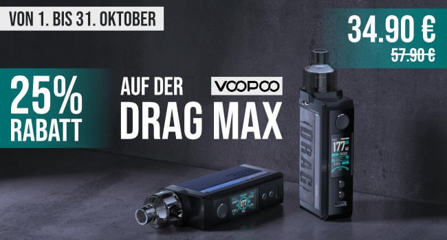 25% Drag Max Voopoo