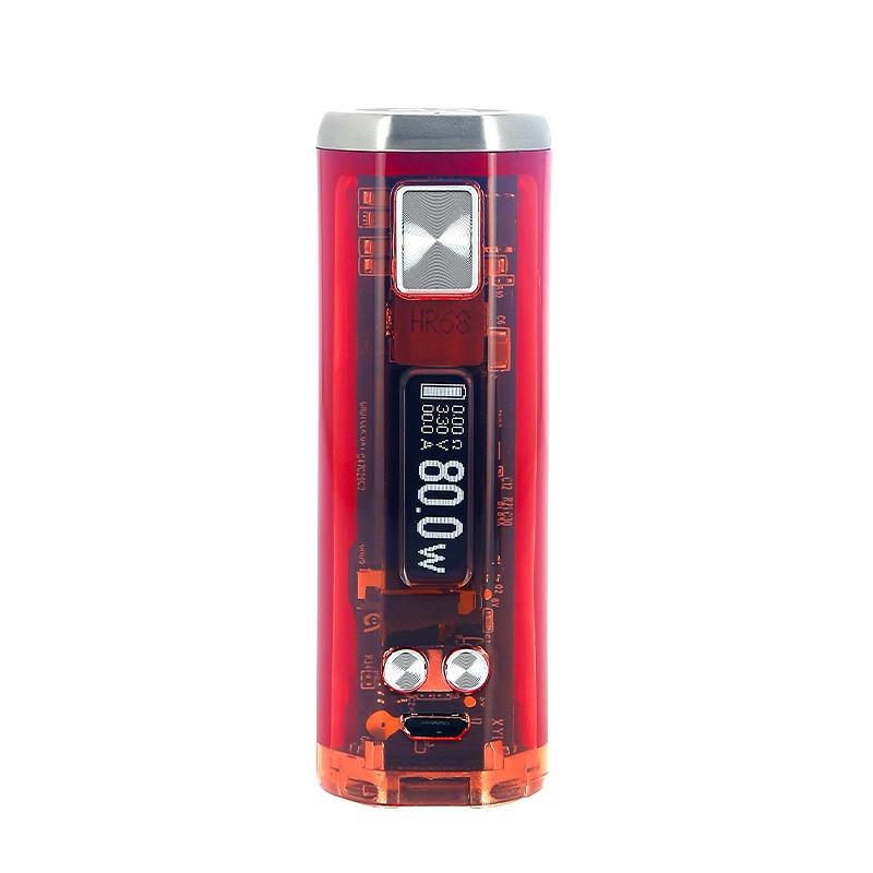 Wismec Box Sinuous V80 ecran