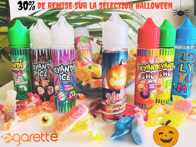 30% de remise sur la sélection Halloween pop up!