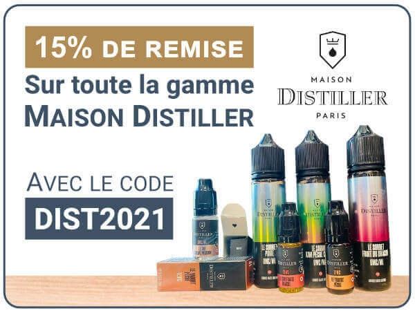 15% maison distiller